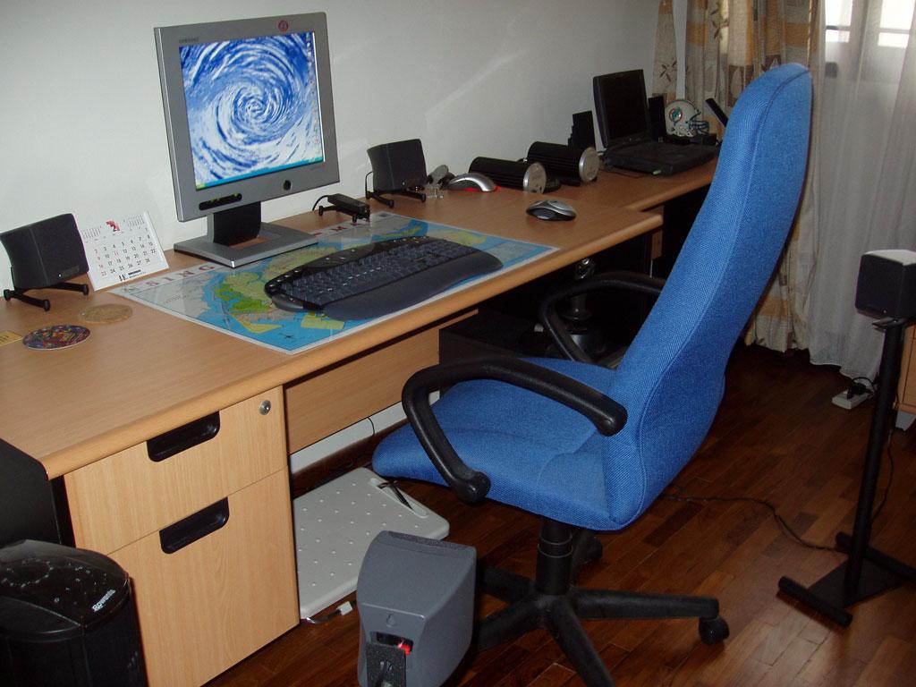Sherman's desk