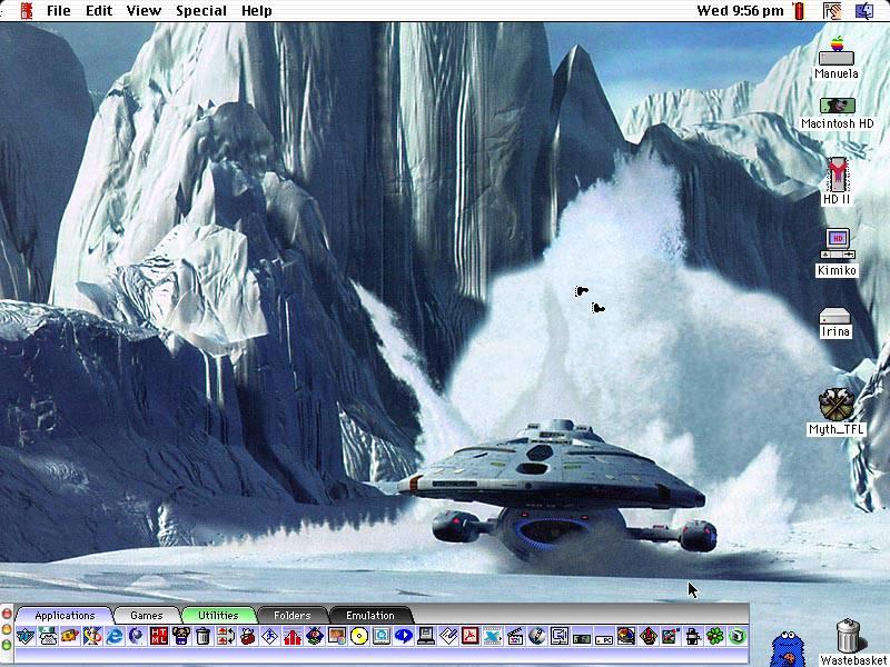 PowerBook desktop