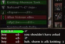 Sherman afk